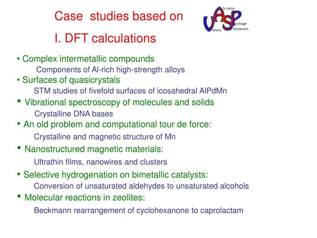 Case  studies based on