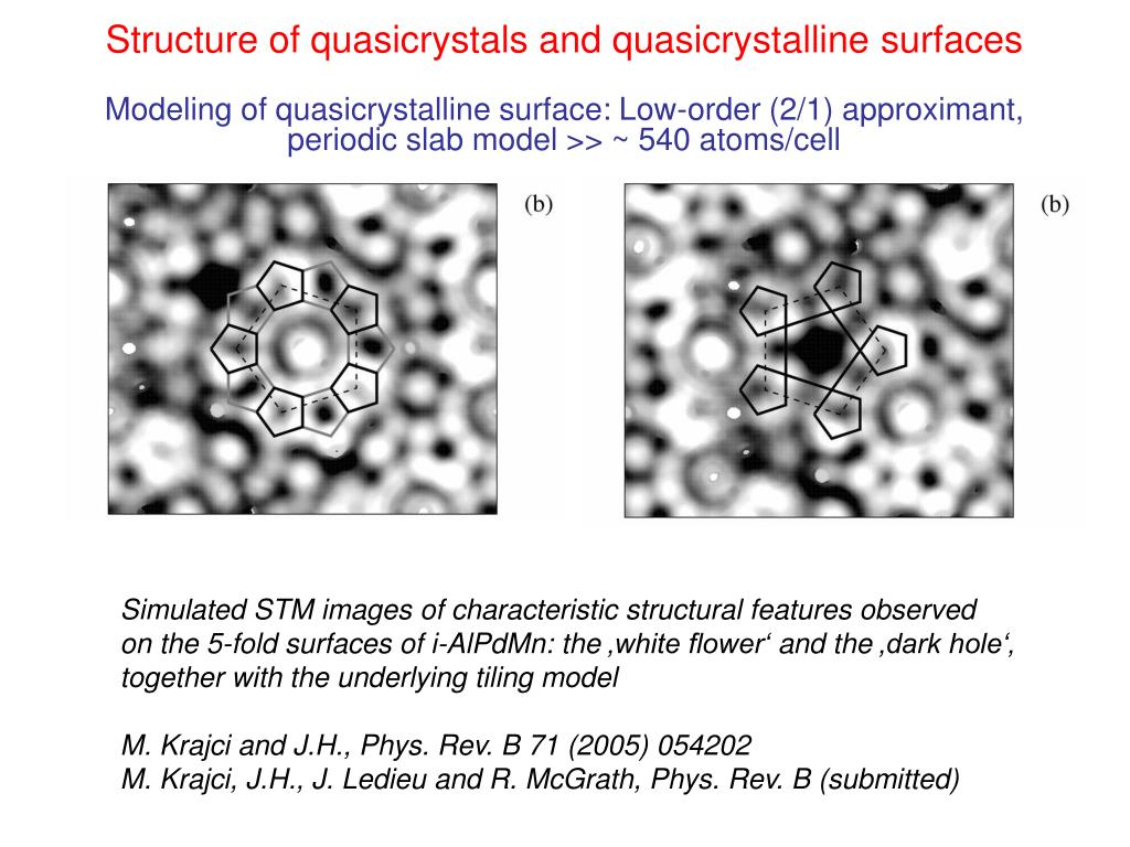 Structure of quasicrystals and quasicrystalline surfaces