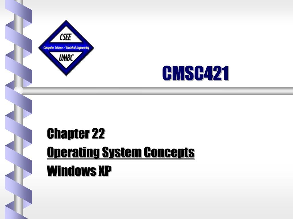 CMSC421