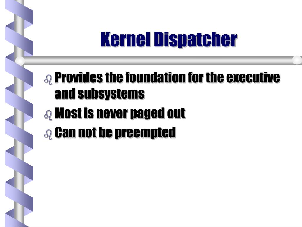 Kernel Dispatcher