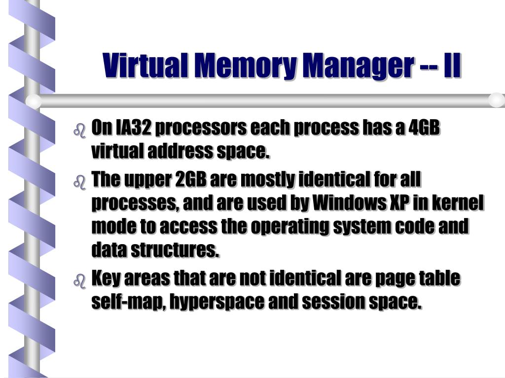 Virtual Memory Manager -- II