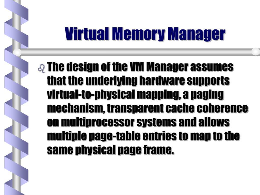 Virtual Memory Manager