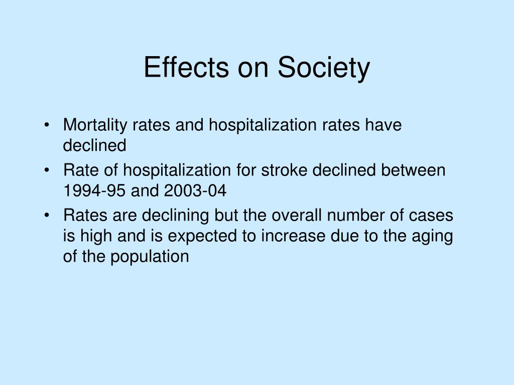 Mortality rates and hospitalization rates have declined