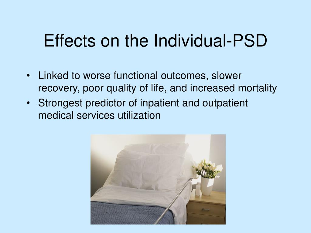 Linked to worse functional outcomes, slower recovery, poor quality of life, and increased mortality