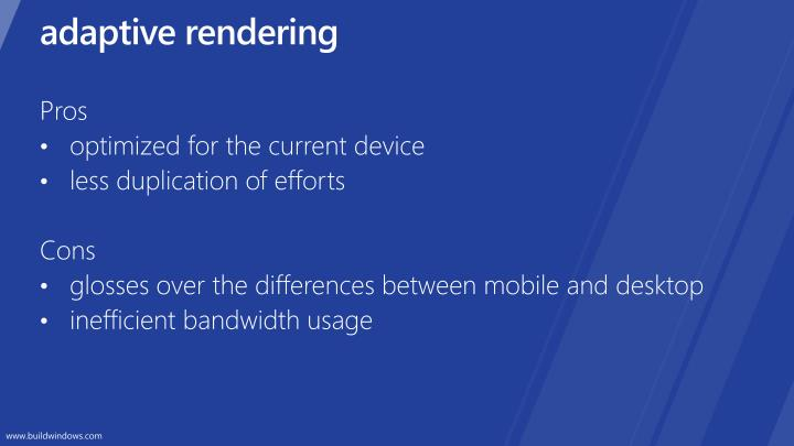 adaptive rendering