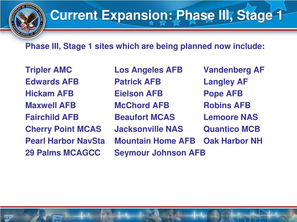 Current Expansion: Phase III, Stage 1