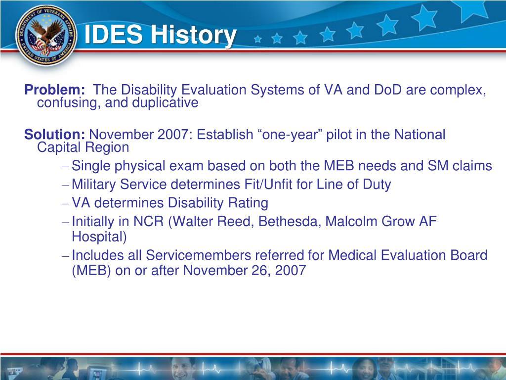 IDES History