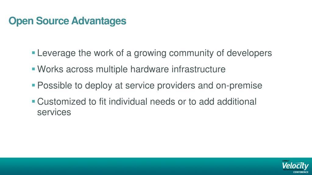 Open Source Advantages