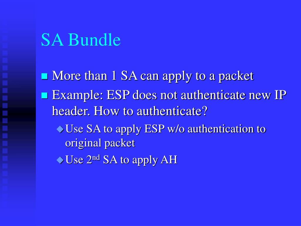 SA Bundle