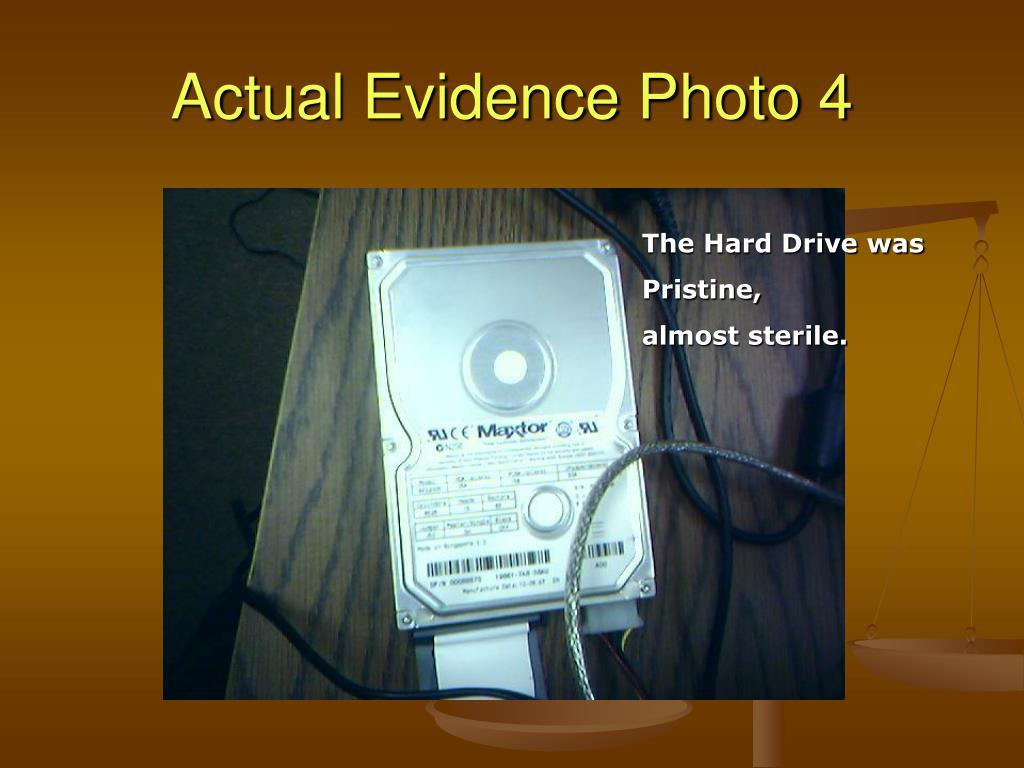 Actual Evidence Photo 4