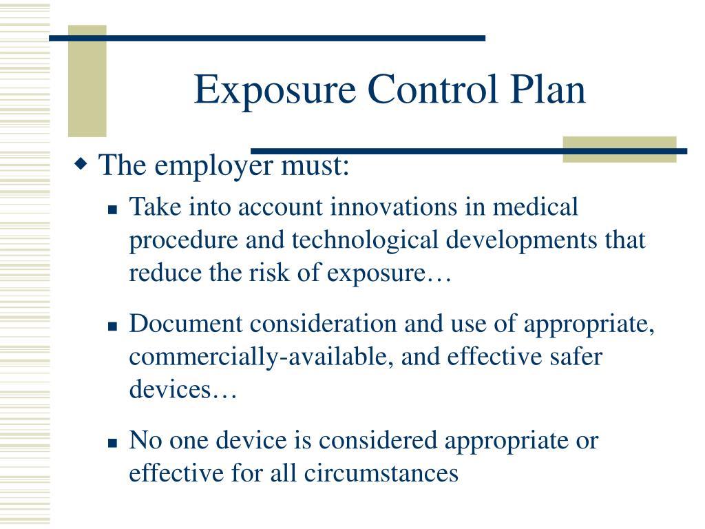 Exposure Control Program