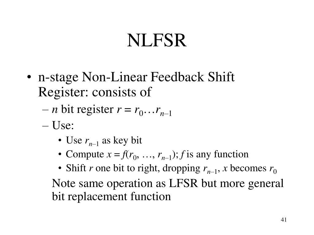 NLFSR