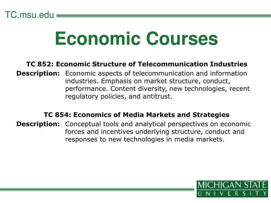Economic Courses