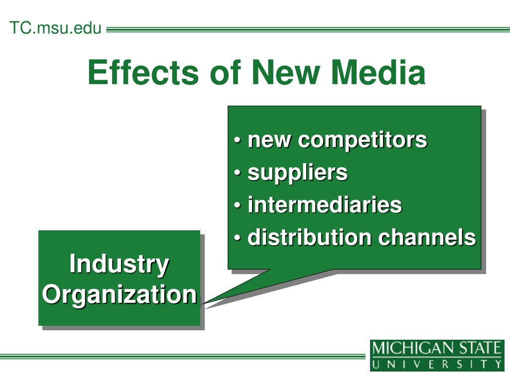 Effects of New Media