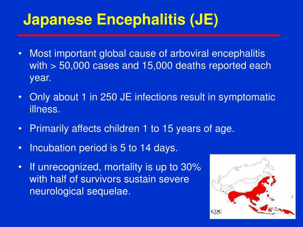 Japanese Encephalitis (JE)