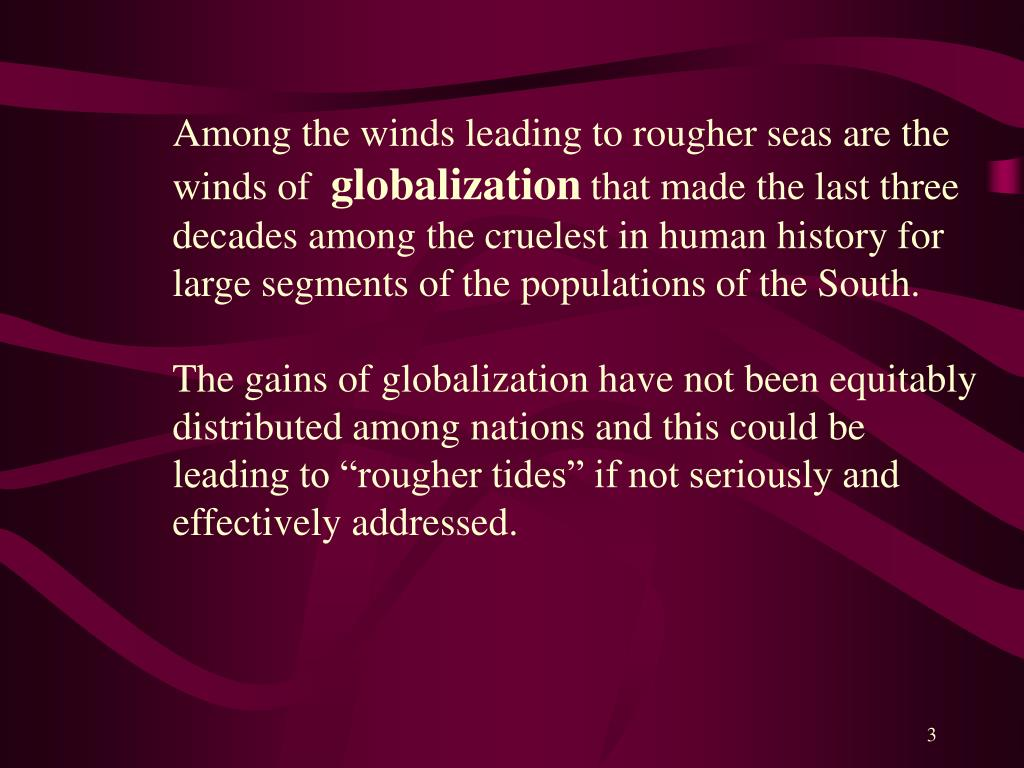 Among the winds leading to rougher seas are the winds of