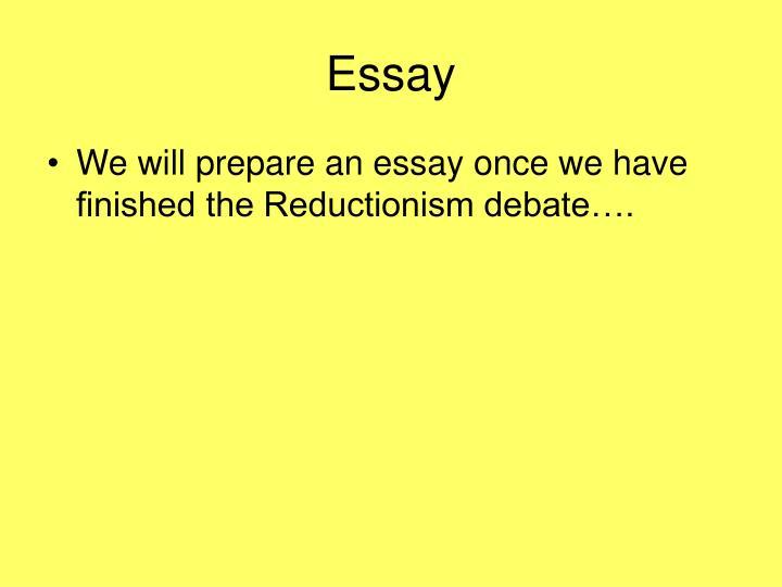 Holism Vs Reductionism Essay Examples - image 11