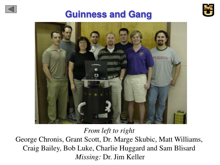 Guinness and Gang