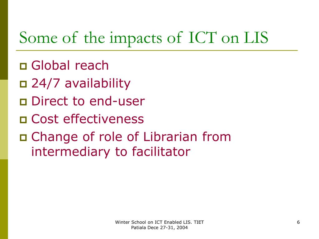 effects of ict The project intends to contribute to the responsible innovation literature by carrying out a set of conceptual and empirical studies on the socio-economic effects of icts, considering positive impacts as well as potential risks friends taking selfie photo: colourboxcom.