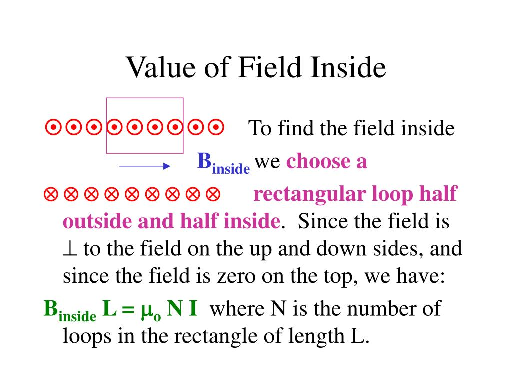 Value of Field Inside