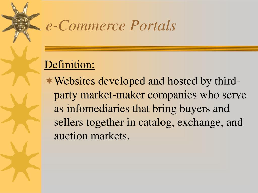 e-Commerce Portals