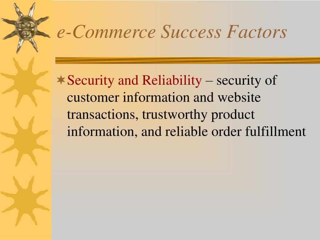 e-Commerce Success Factors