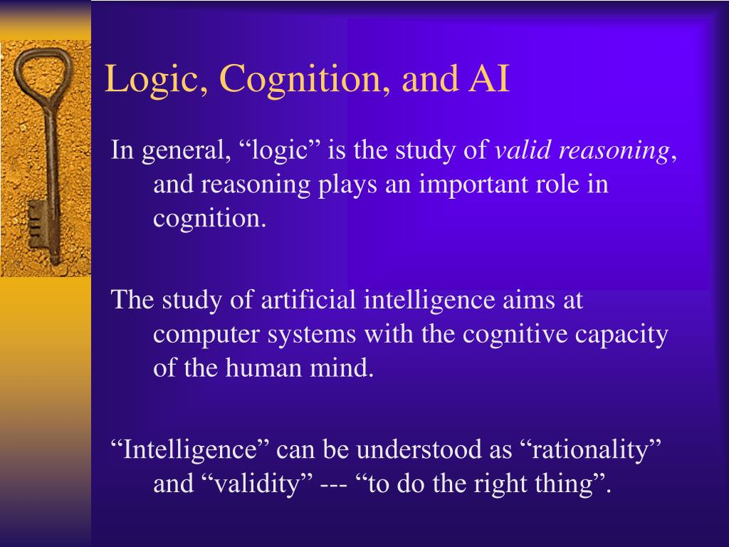 Logic, Cognition, and AI