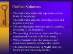 unified solutions