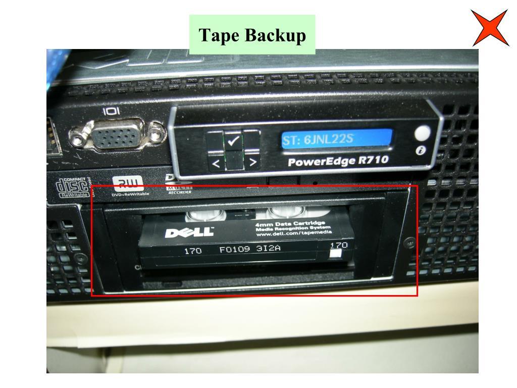 Tape Backup