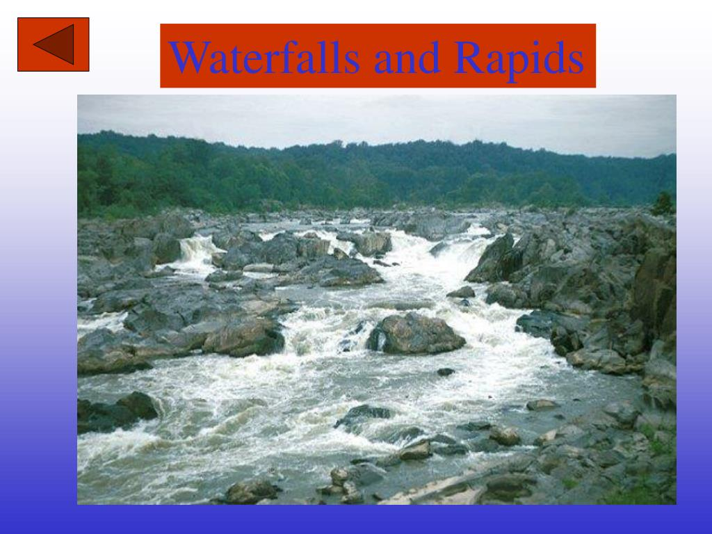 Waterfalls and Rapids