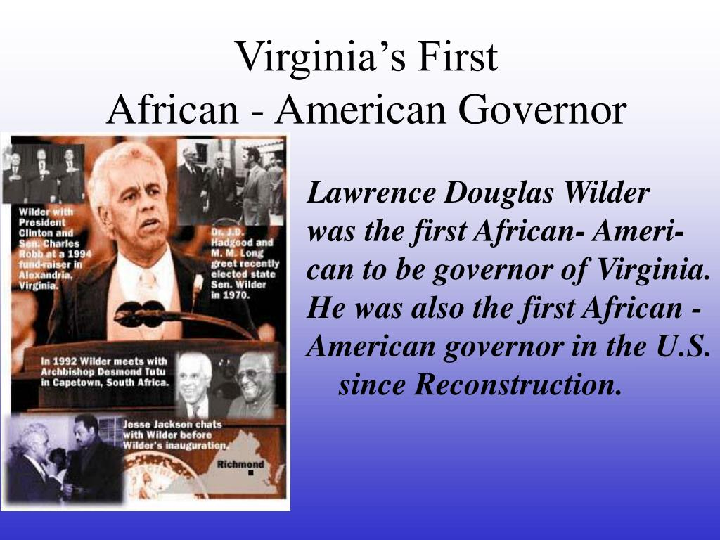 Virginia's First
