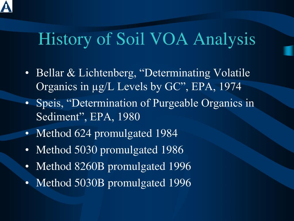 Ppt sw 846 method 5035a powerpoint presentation id 301863 for Origin of soil