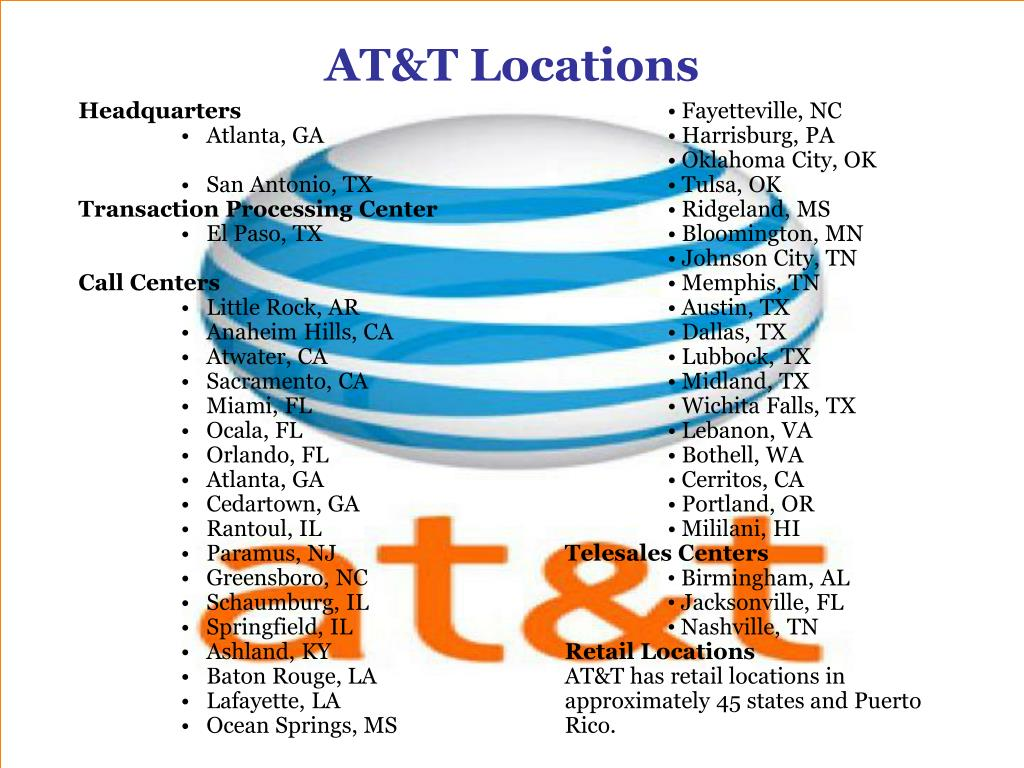 AT&T Locations