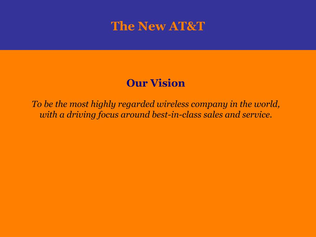 The New AT&T