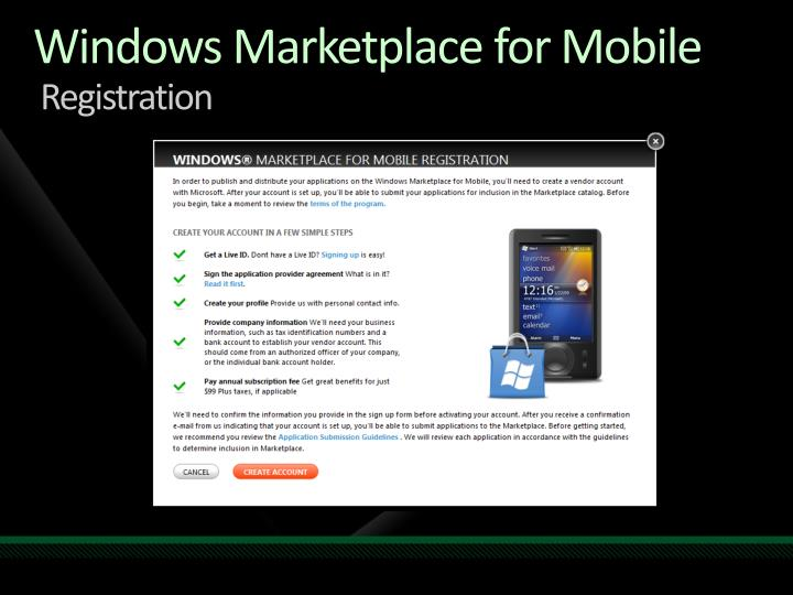 Windows Marketplace
