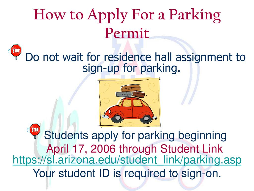 How to Apply For a Parking Permit