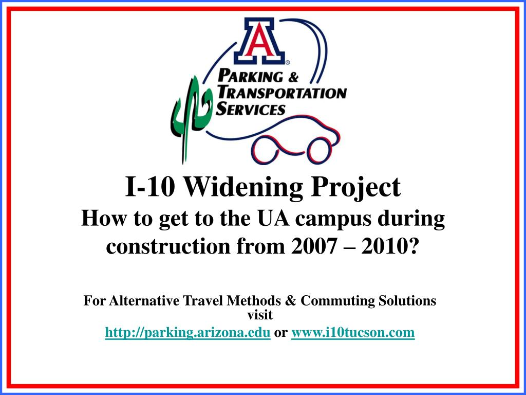 I-10 Widening Project