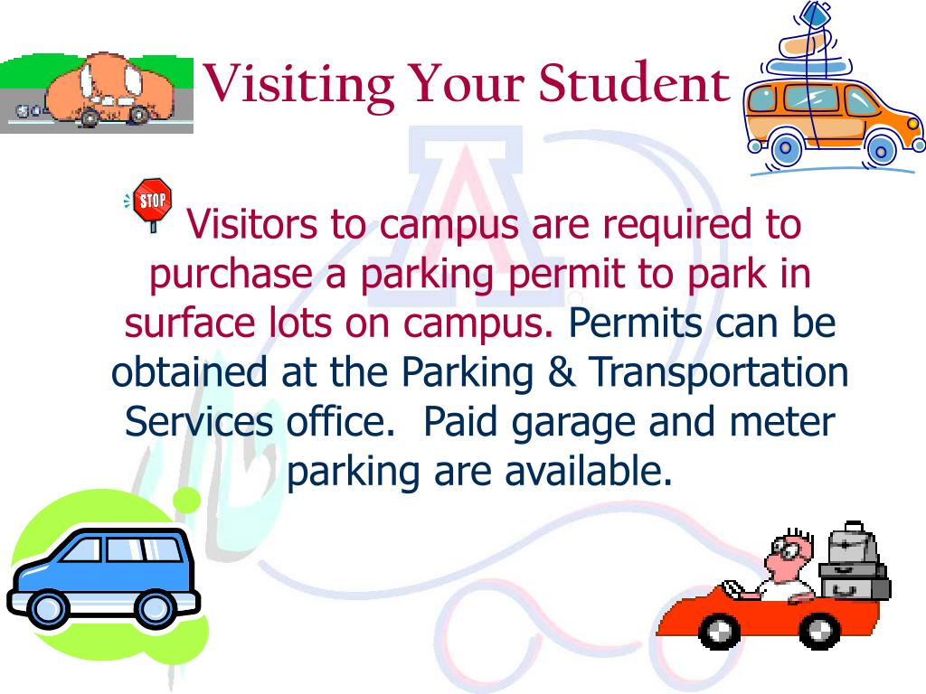 Visiting Your Student