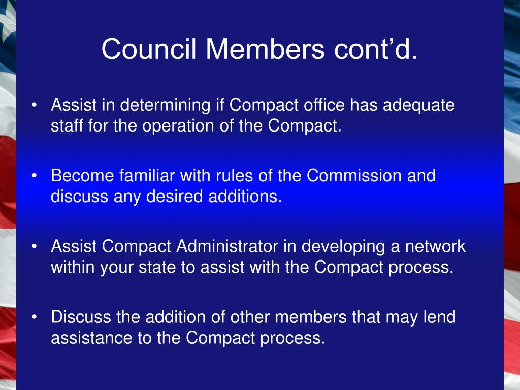 Council Members cont'd.