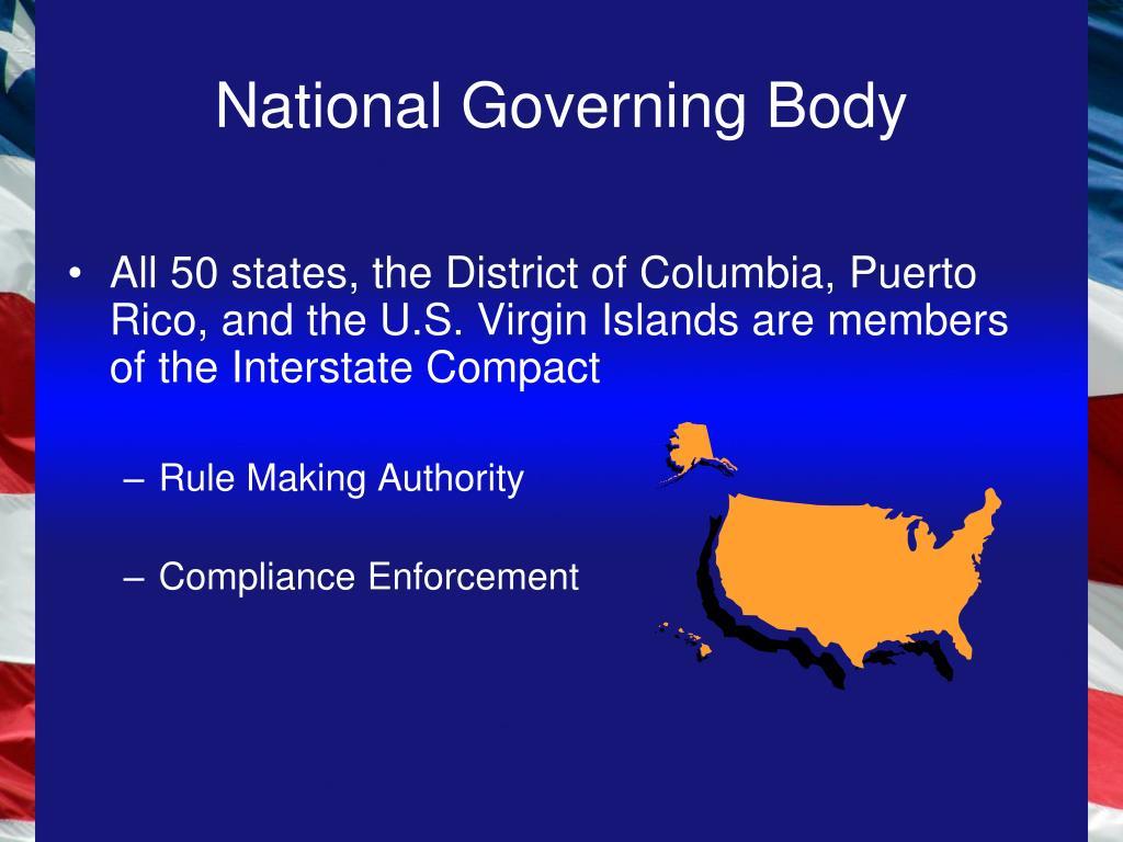 National Governing Body