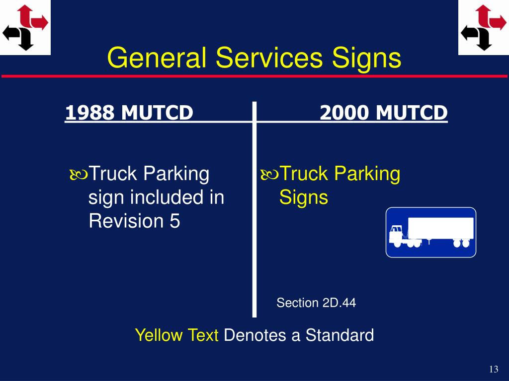 General Services Signs