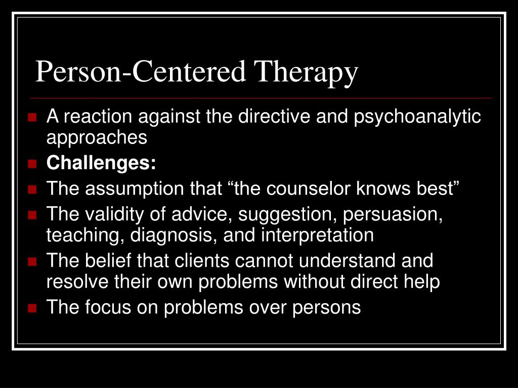 person centered therapy client therapist relationship and ethics