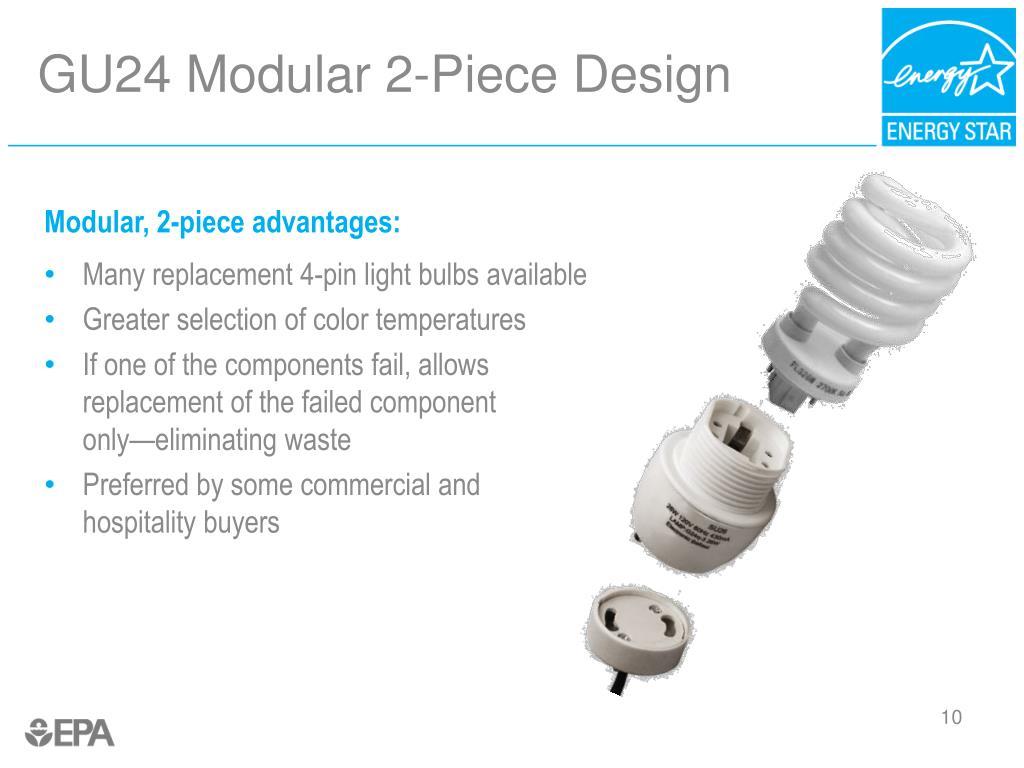 GU24 Modular 2-Piece Design