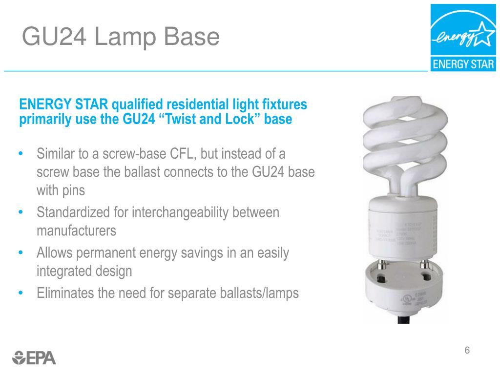 GU24 Lamp Base