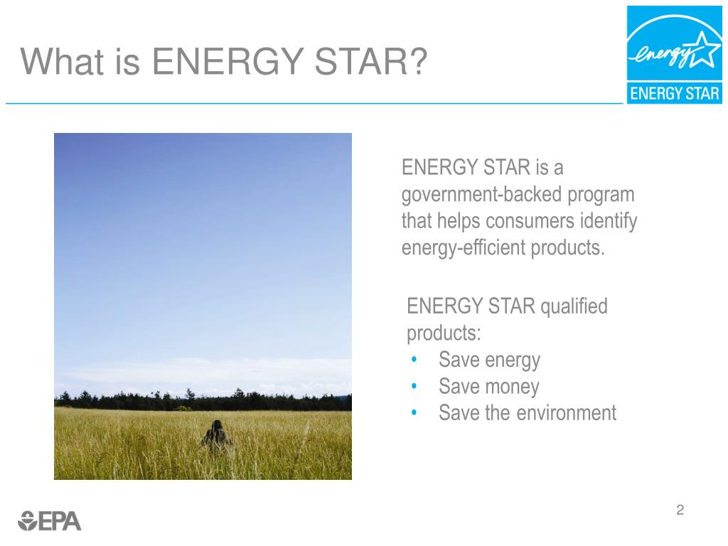 ENERGY STAR is a