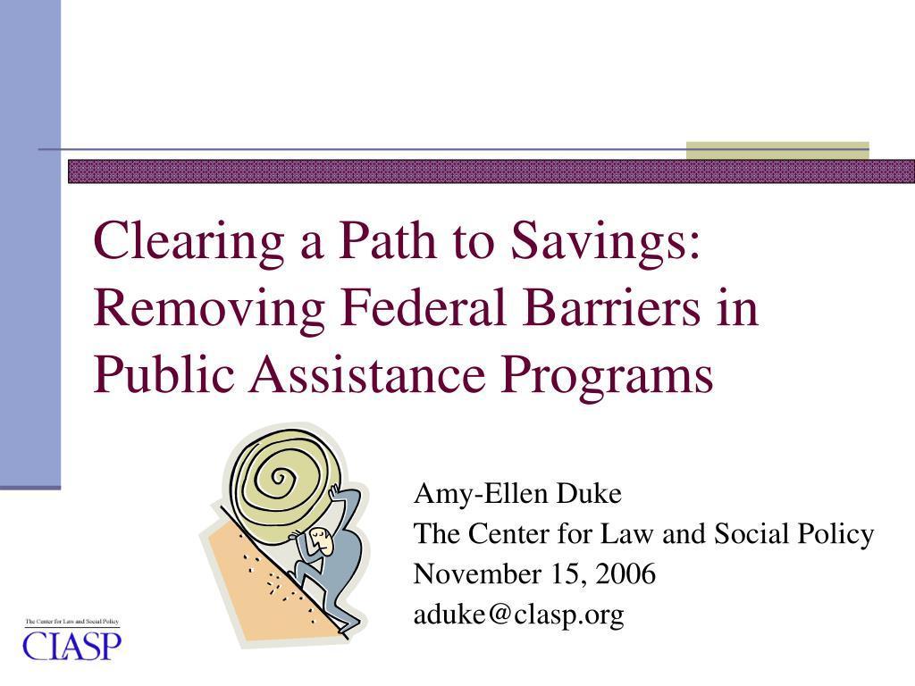 public policy federal