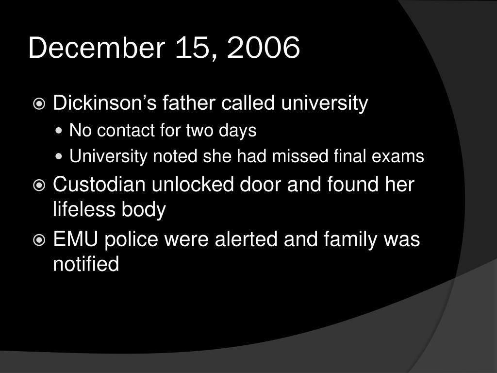 December 15, 2006