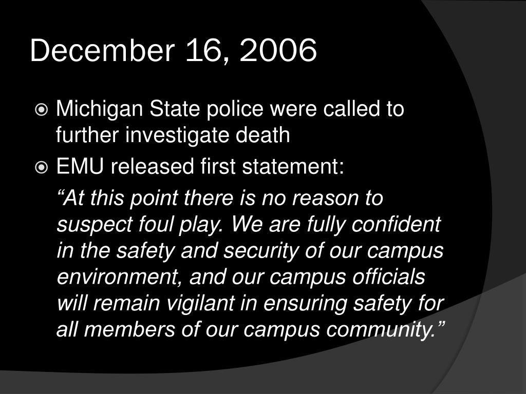 December 16, 2006