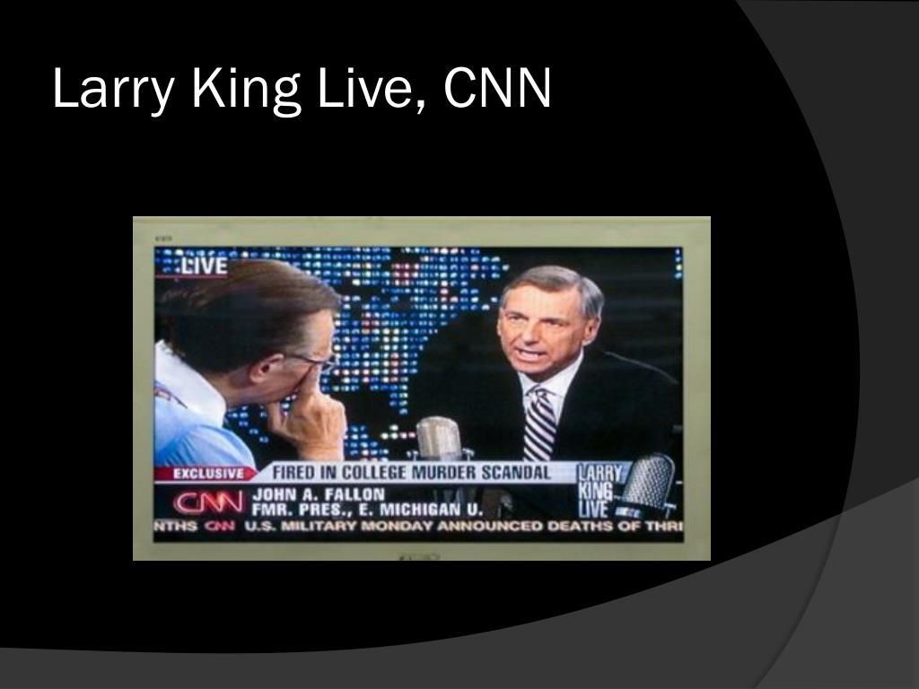 Larry King Live, CNN