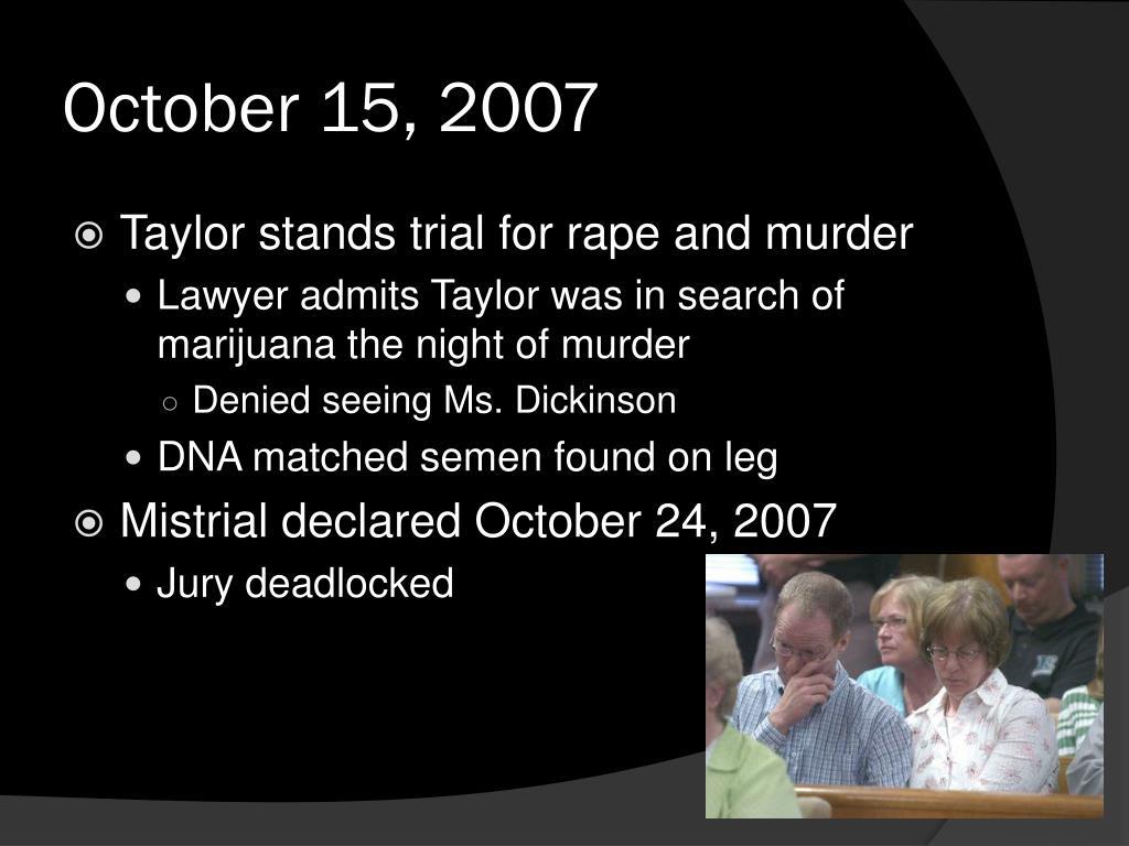 October 15, 2007